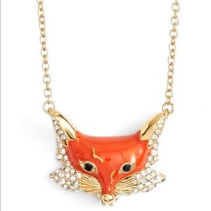 NWOT, Kate Spade- Fox pendent necklace
